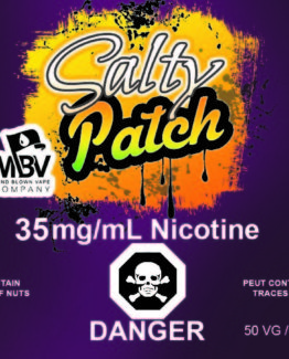 Salty Patch label