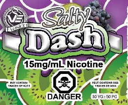 Vape Evasion SaltyDash_15mg_30ml-001 (1)